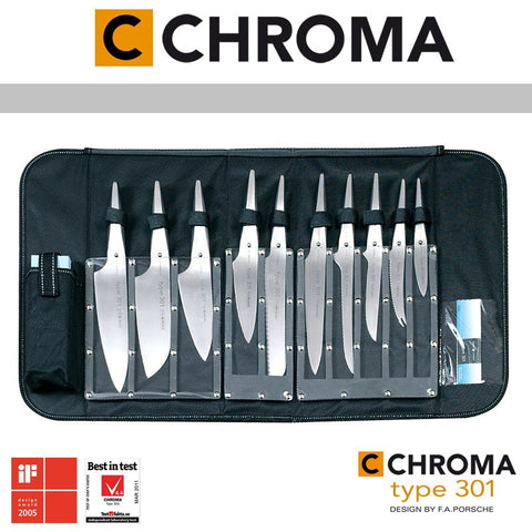 Image of Chroma Type 301 Chef's Knife Bag - Premium Chef Knives