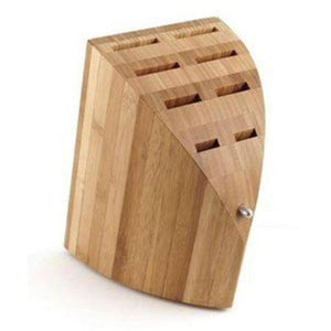 Chroma Type 301 Bamboo Knife Block - Premium Chef Knives