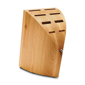 Chroma Type 301 Wood Knife Block - Premium Chef Knives