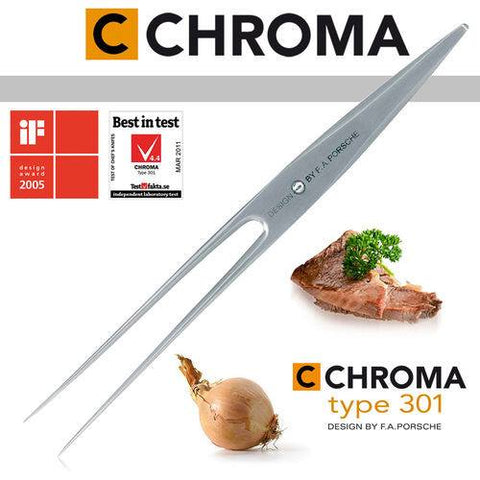 Chroma Type 301 Carving Fork - Premium Chef Knives