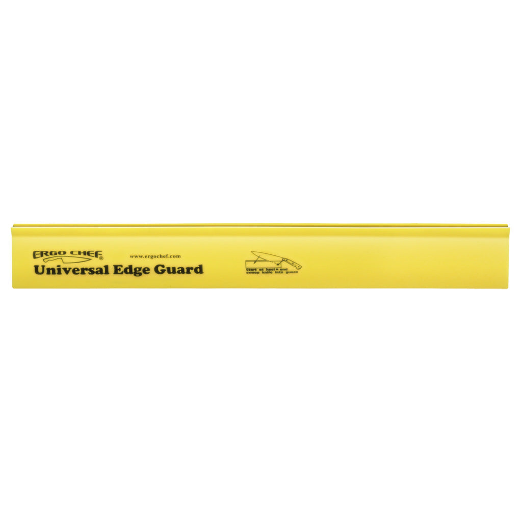 "Ergo Chef 12"" Knife Edge Guard - Yellow - Premium Chef Knives"