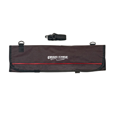 9 Pocket Soft Knife Roll Case by Ergo Chef - Premium Chef Knives