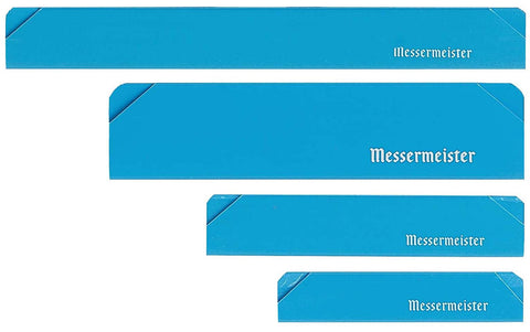 Messermeister 4 Piece Blue Knife Edge-Guard Set - Premium Chef Knives