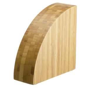 Messermeister 10 Knife Bamboo Magnet Knife Block - Premium Chef Knives