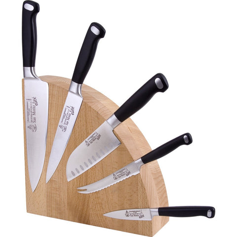 Magnetic Knife Block - Messermeister 10 Knife Beechwood Magnet Block