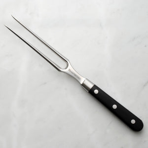 "Messermeister Meridian Elite 6"" Straight Carving Fork - Premium Chef Knives"