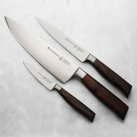 Messermeister Royale Elite 3 Piece Starter Knife Set - Premium Chef Knives