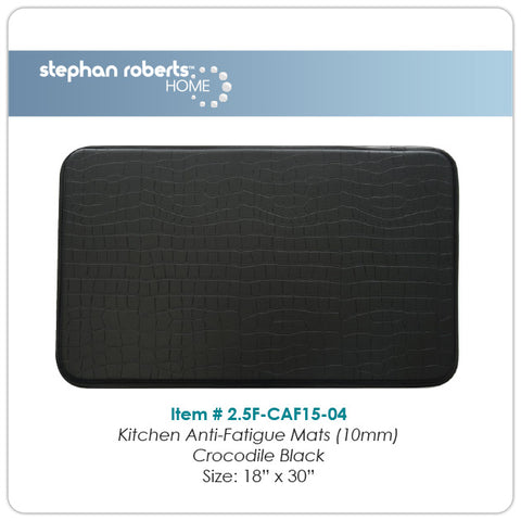 "Stephan Roberts® | Kitchen Mat | Classic Collection Anti-Fatigue | 18"" x 30"" (10mm) 