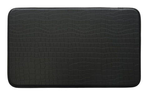 Kitchen Mat | Classic Collection Anti-Fatigue | Crocodile - Black