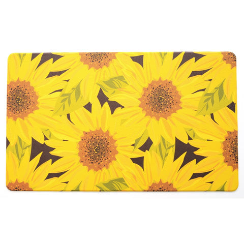 Kitchen Mat | Designer Comfort | Sunflower
