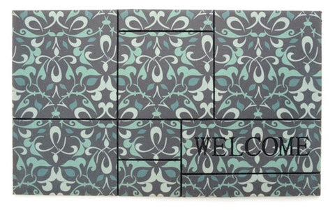 Door Mat | Recycled Crumb Rubber (Flocked) | Ferrara
