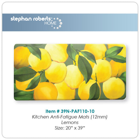"Stephan Roberts® | Kitchen Mat | Designer Comfort Anti-Fatigue (Dual Foam) | 20"" x 39"" (12mm) 