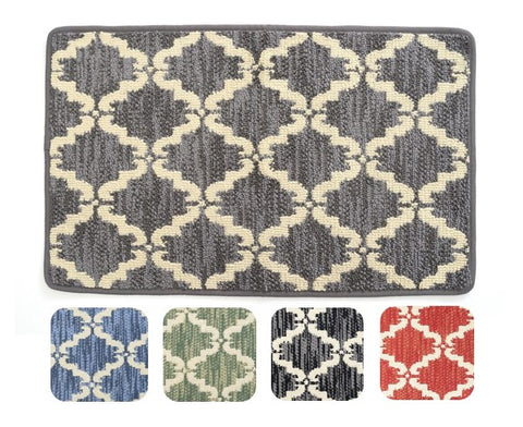 "Bath Mat | Knitted Loop Pile | 20"" x 39"" 