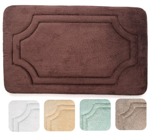 NEW! Bath Mat | Fast Dry Memory Foam| 17 X 24