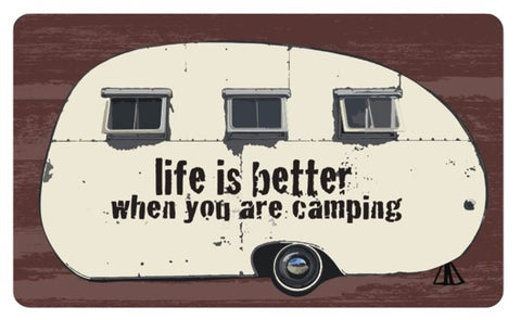 RV/Camping | Kitchen Mat - Designer Comfort | Life Is Better When You Are Camping