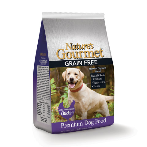 Nature's Gourmet™ | Dog Food - Premium Grain Free | Chicken | 4 lbs.