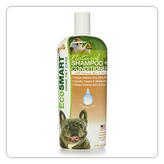 EcoSmart® | Shampoo + Conditioner |  Fragrance-Free | 17 oz.