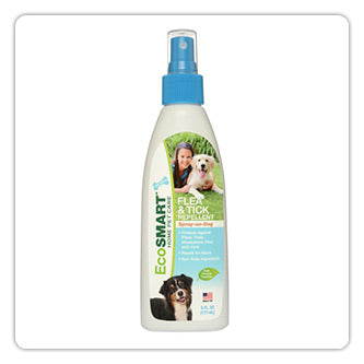 EcoSmart® | Flea & Tick Repellent | Spray-On-Dog | 6 oz.