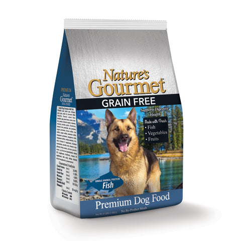 Nature's Gourmet™ | Dog Food - Premium Grain Free | Fish | 4 lbs.