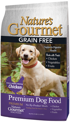 Nature's Gourmet™ | Dog Food - Premium Grain Free | Chicken | 25 lbs.
