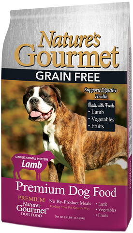 Nature's Gourmet™ | Dog Food - Premium Grain Free | Lamb | 25 lbs.