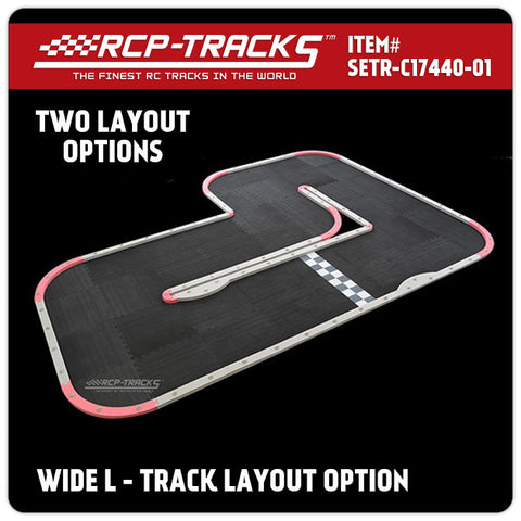 RCP-Tracks™ | Wide L / Oblong Track