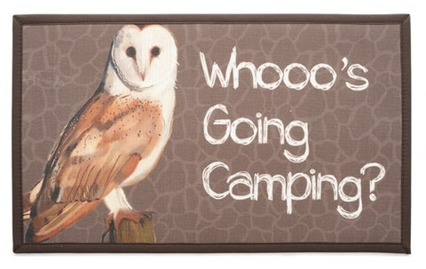 RV/Camping | Accent Mat - Textilene | Whooos Going Camping