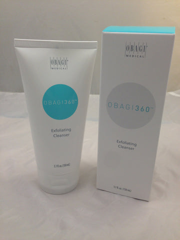 OBAGI 360 Exfoliating Cleanser 5.1 oz / 150 ml