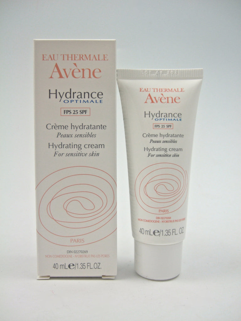 Avene Hydrance Optimale SPF 25 Hydrating Cream 1.35 oz CLEARANCE EXP 06/15