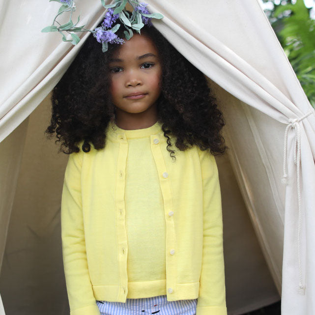 Classic Prep Childrenswear Preppy Spring Sweater Collection