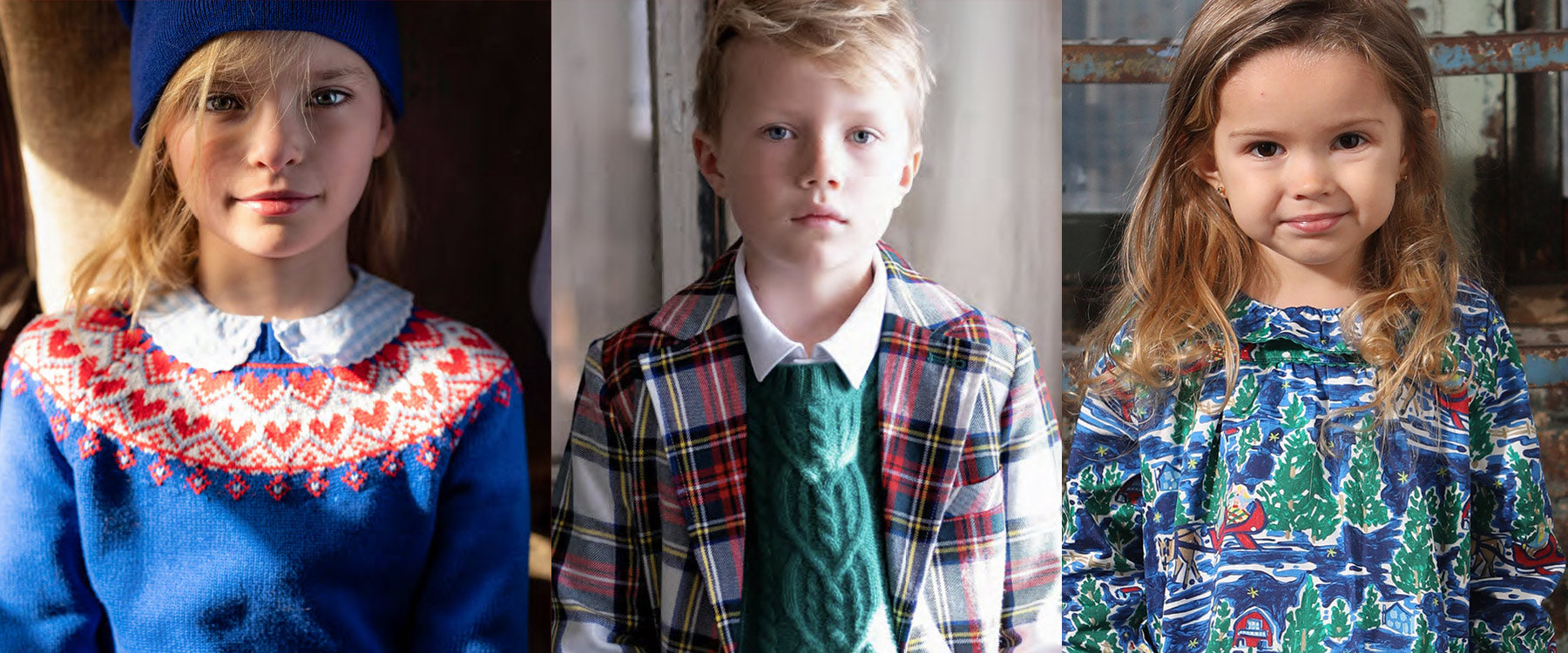 Classic, Preppy Holiday Outfits for boys and girls