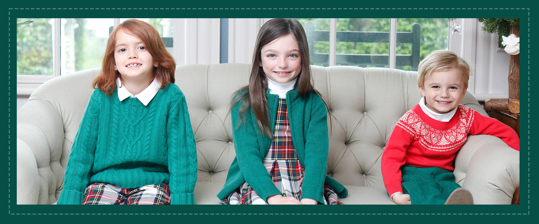 classic prep holiday tartan children's clothing