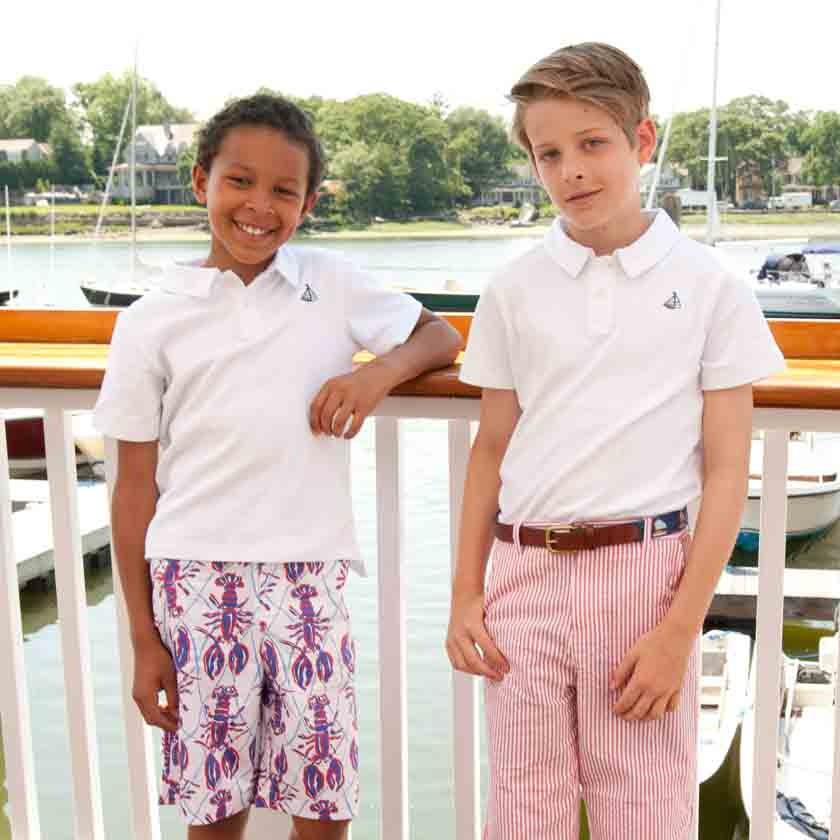 classic and preppy boys clothing