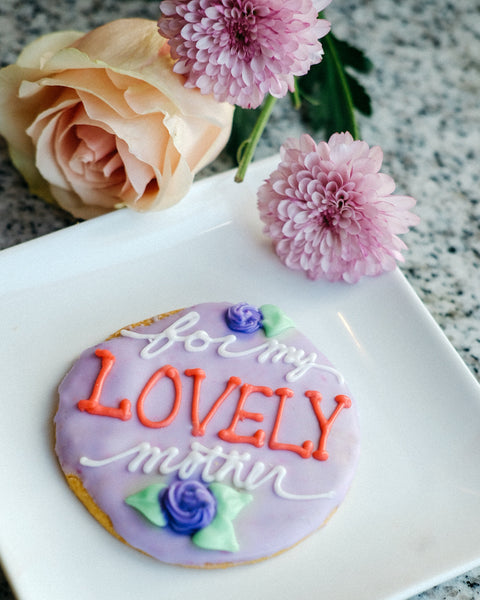 Assorted Mother's Day Sugar Cookies