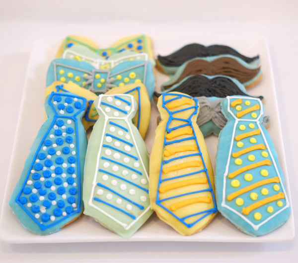Assorted Father's Day Sugar Cookies