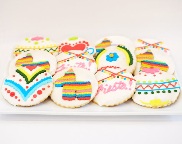 Assorted Fiesta Sugar Cookies