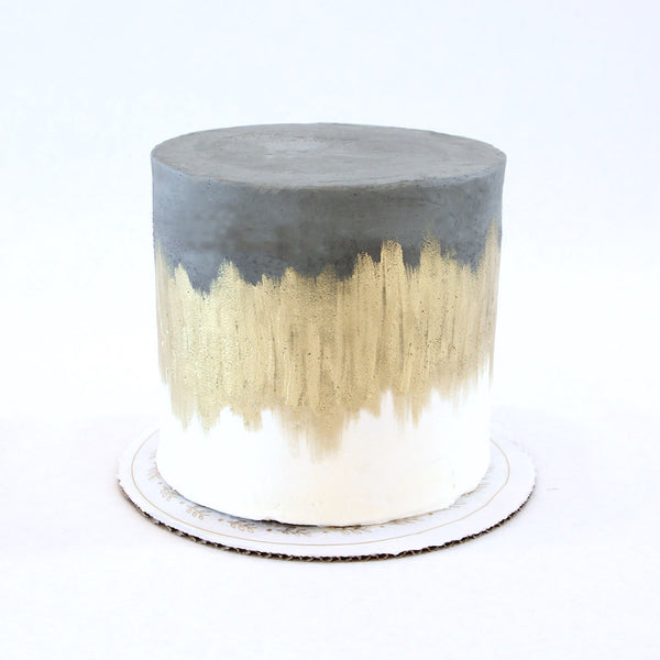 Brushed Gold Cake