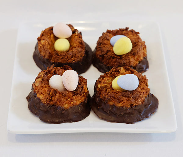 Easter Macaroon Nests