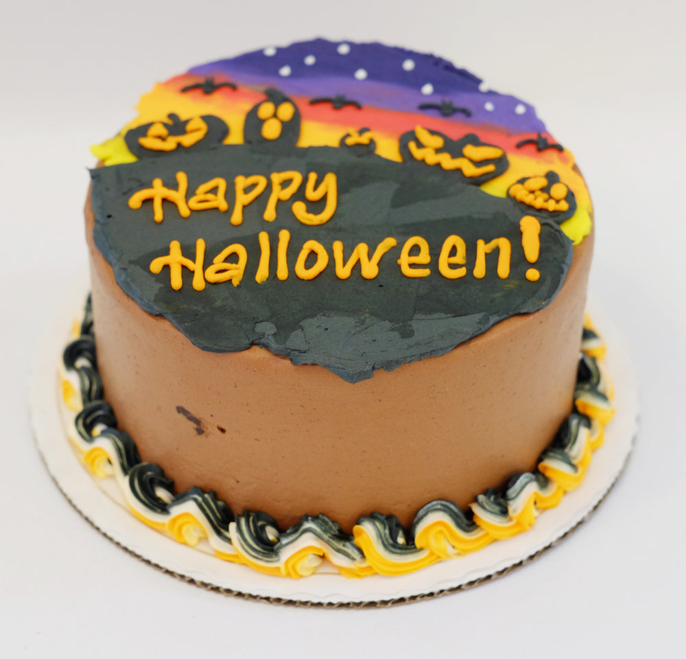 Halloween Twilight Chocolate Decadence Cake