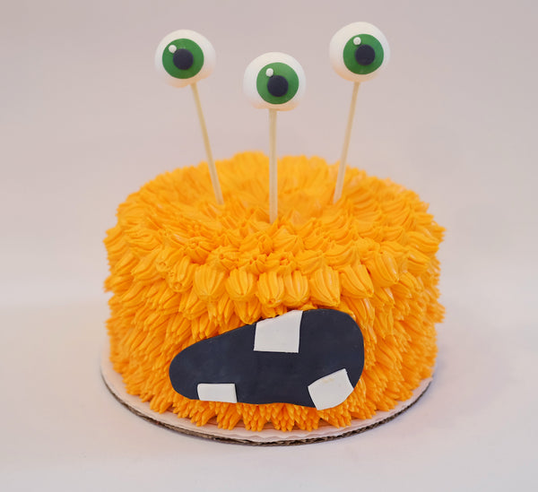 Halloween Monster Berry Patch Cake