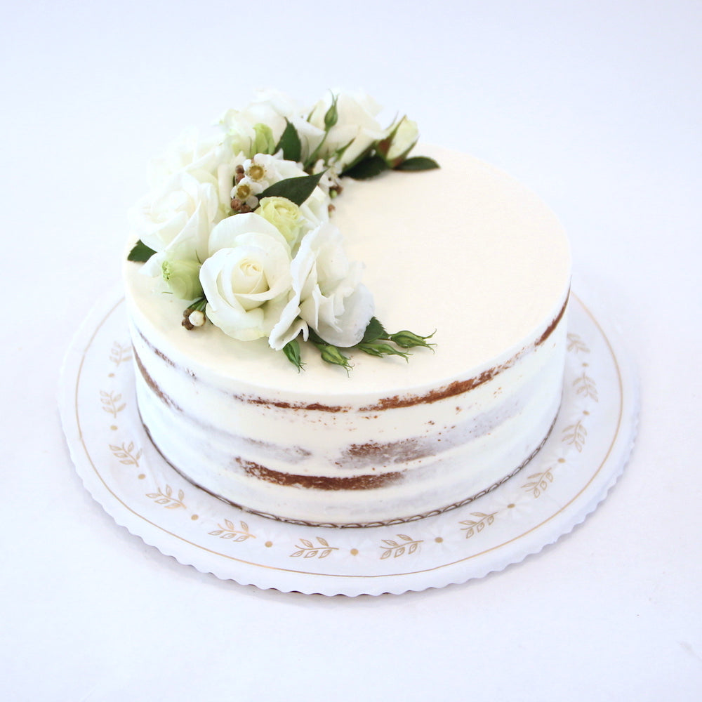 Naked Sweetheart Cake - No Flowers