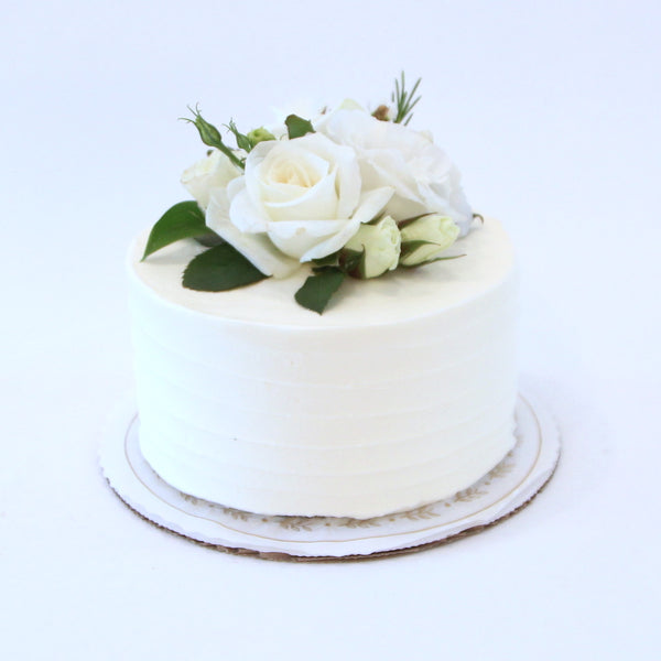 Swirl Sweetheart Cake - No Flowers