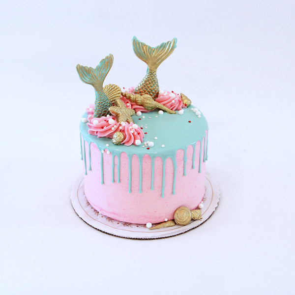 Mermaid Tails Cake