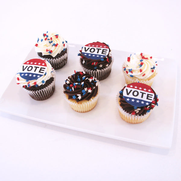 Election Day Cupcakes