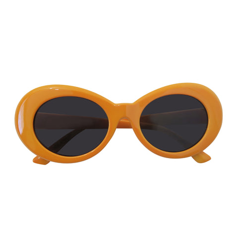 Kurt Cobain Style Glasses (Orange)