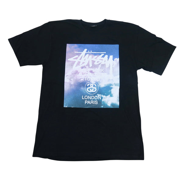 Stussy London/Paris Tee