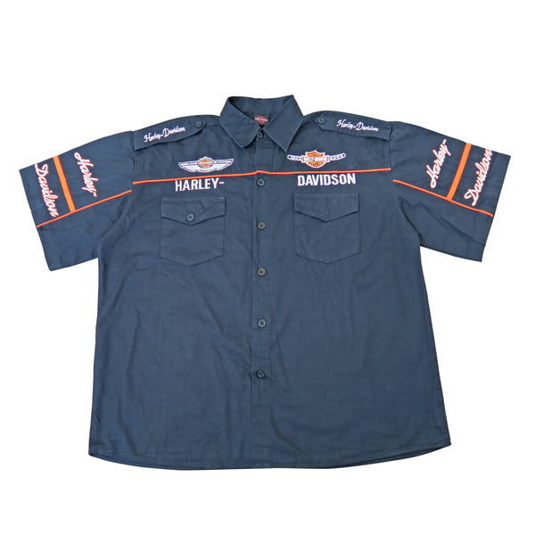 OG Harley Davidson Full Embroidery Shirt