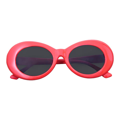 Kurt Cobain Style Glasses (Red)