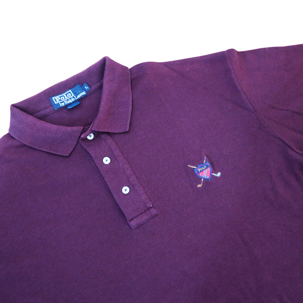 90s Ralph Lauren Embroidered Polo