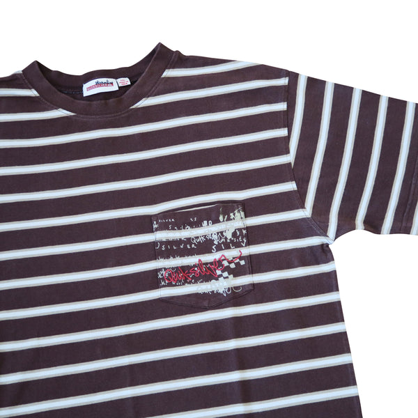 Quicksilver Stripe Tee